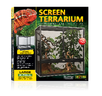 SCREEN TERRARIUM ALUMINUM SCREEN HABITAT