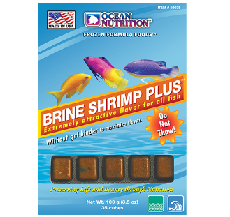 FROZEN BRINE SHRIMP PLUS™